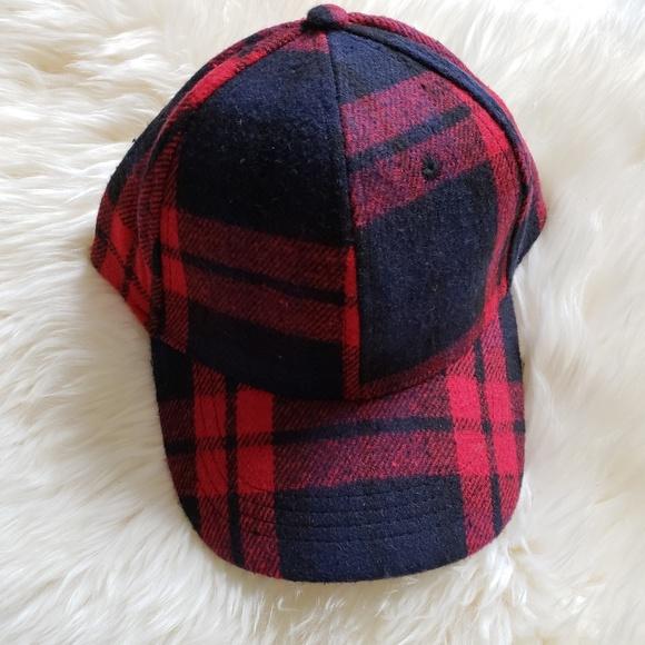 615d72606c9 David   Young Plaid Flannel Baseball Cap Dad Hat